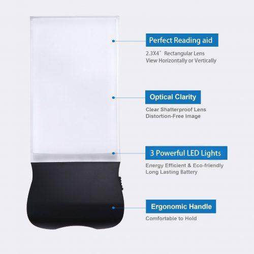 handheld magnifying glass