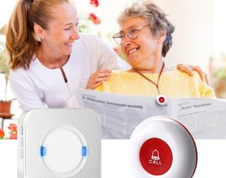Wireless Caregiver Pager Receiver